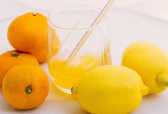 オレンジと柑橘系